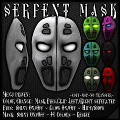 Serpent Mask Vendor