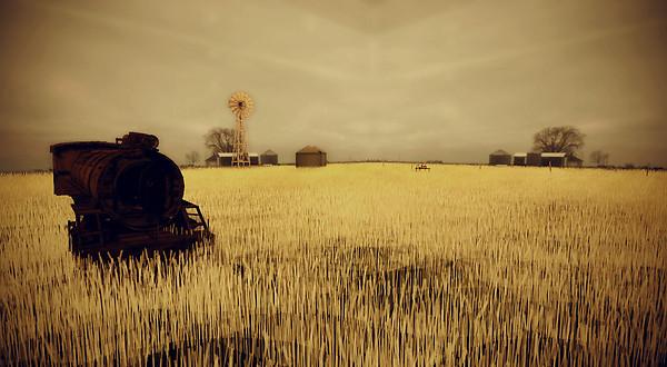 AM Radio Wheat field 3