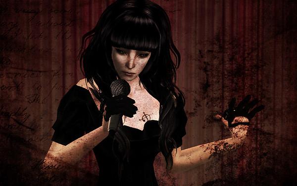 She would like to sing her sorrow