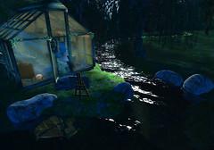The Lakehouse at Night
