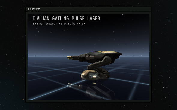 Eve Online: Incarna - new turret preview