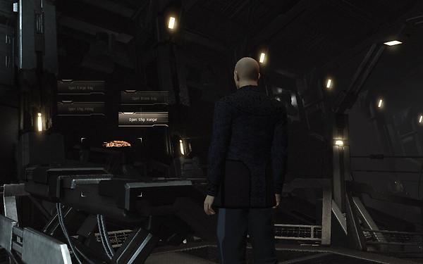 Eve Online Incarna: new menus