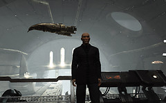 Eve Online: Incarna - the ship hangar