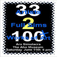 The Aho Museum & Ars Simulacra Exhibition