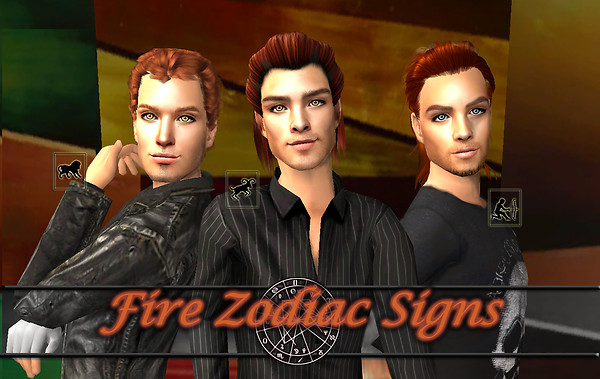 Fire Zodiac Eyes