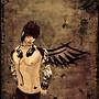 Sepia Angel