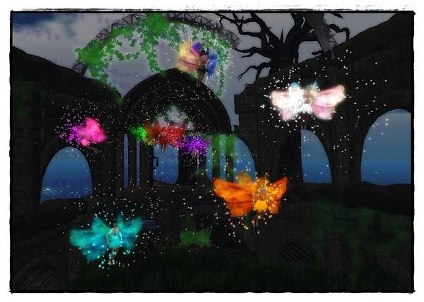 a colorful little fairies