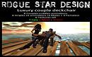 ROGUE STAR DESIGN Luxury couple deckchair