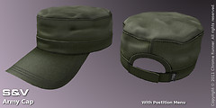 Army Cap, Green