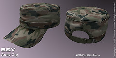 Army Cap, Camo-Forest
