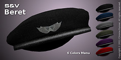 Beret with Wings Badge