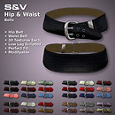 Hip &amp; Waist Belts with many texture options