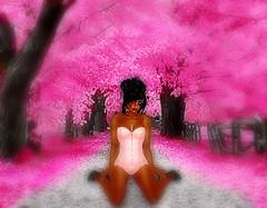 Cherry Kneeling