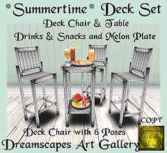 *Summertime* Deck Set