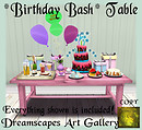 *Birthday Bash* Table - Dreamscapes Art Gallery for TOSL