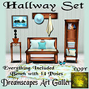*Hallway Set* Dreamscapes Art Gallery for Moody Mondays