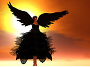 _ Arm wings black