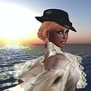 Black Bonnie on the beach