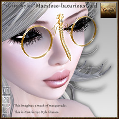 *+Crie Style+* Maestoso-luxuriousGold