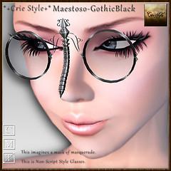 *+Crie Style+* Maestoso-GothicBlack