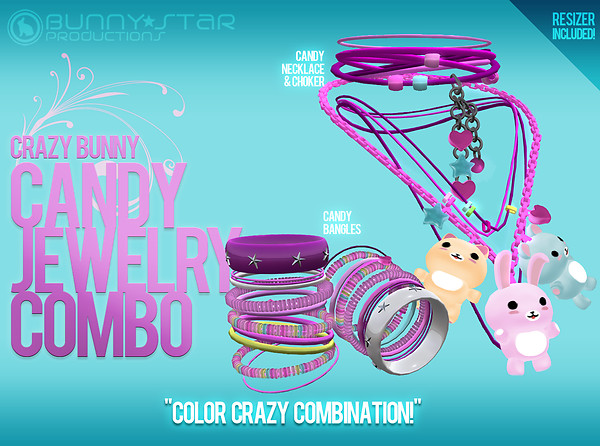 CrazyBunny Can Jewelry Combo