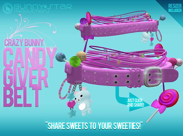 CrazyBunny Candy Giver Belt