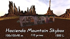 Hacienda Mountain Skybox