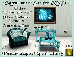 *Midsummer* Set - Dreamscapes Art Gallery for MND 2