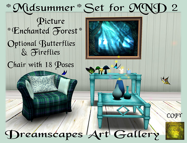 *Midsummer* Set - Dreamscapes Art Gallery for MND 2