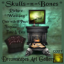 Skull-n-Bones Hunt Gift Dreamscapes Art Gallery