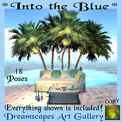 *Into the Blue* - Dreamscapes Art Gallery for The Summer Lovin Hunt