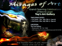 Mirages Of Art - Gallery Invite !
