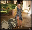 Lora Rain wearing Anubis Style - Mimi