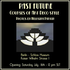 PAST FUTURE - Art Deco photos by Melusina Parkin