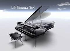 L+R Memento Mori -Black Crystal Piano.