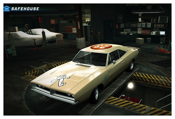 """My DODGE Charger R/T in """"NFS World"""" with custom paint job"""