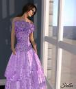 SHIKI Hibiscus Fantasy gown