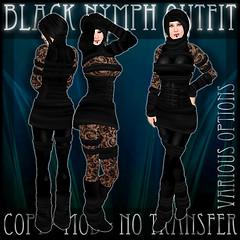 Black Nymph Poster