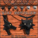 Wolf Medallion Poster