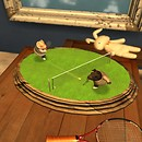 you've seen dogs playing poker... now witness pigs playing tennis! - torley.linden
