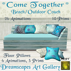 *Come Together* Couch - Dreamscapes Art Gallery for TOSL