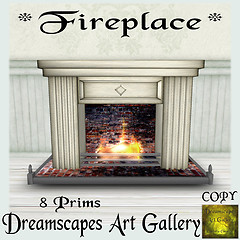 *Fireplace* - Dreamscapes Art Gallery