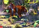 Tigers At Dawn.....