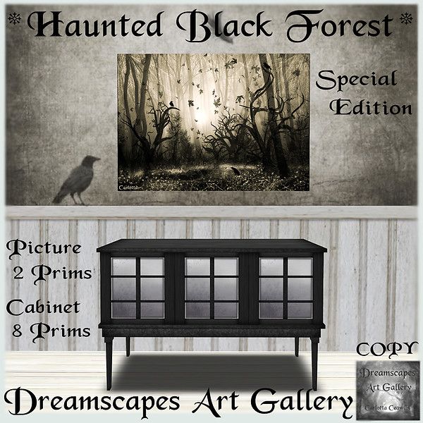 *Haunted Black Forest* Special Edition - Dreamscapes Art Gallery