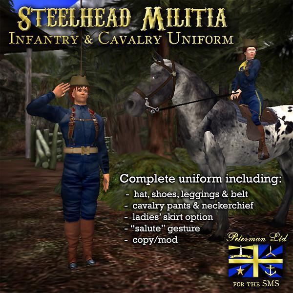 Steelhead Militia Uniforms