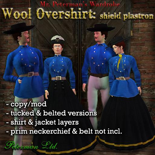 "Wool overshirt or ""fireman's shirt"""
