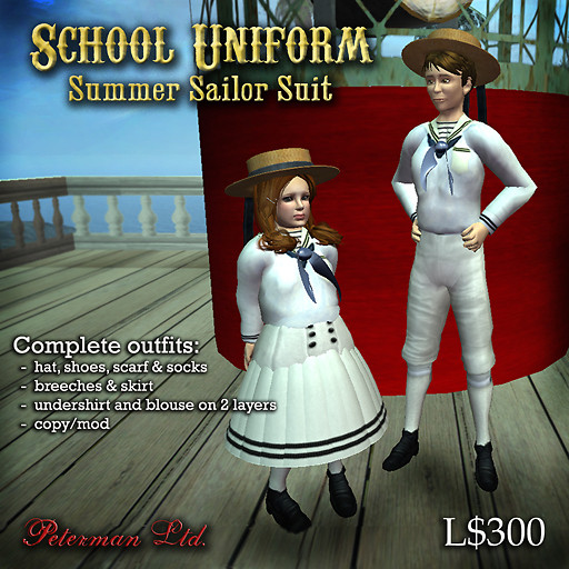 child's sailor suit summer