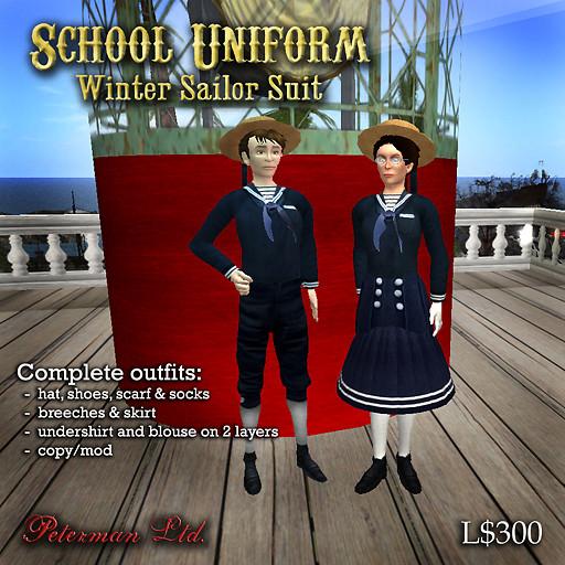 child's sailor suit