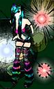 Impressionist Cyber Goth Female