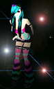 cybergoth in the spotlight